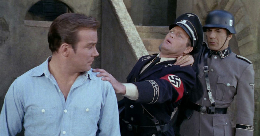 Patterns of Force with Spock neck pinching a Nazi